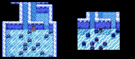 氷の神殿B1F-2